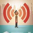 Modem Mi Fi. A Design, Illustration und Werbung project by Mᴧuco Sosᴧ - 23.10.2009