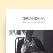 Grandma. Um projeto de Design de Gemma Busquets - 18.05.2013