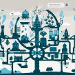 FantasTIC City. Un proyecto de Diseño e Ilustración de Mᴧuco Sosᴧ - 30.05.2013