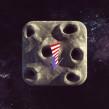 la luna icon. Um projeto de 3D e Design de Zigor Samaniego - 28.06.2013