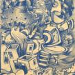 Un boceto muy muy muy largo.. Un proyecto de Ilustración, Dirección de arte y Bellas Artes de Óscar Lloréns - 18.02.2014