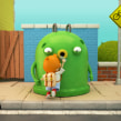 """Mr Iglú y la cadena de reciclaje del vidrio.. A Motion Graphics, 3D, and Animation project by Carlos """"Zenzuke"""" Albarrán - 04.02.2014"""