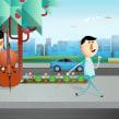 """Telefónica CDN. Un progetto di Pubblicità, Motion Graphics , e Animazione di Carlos """"Zenzuke"""" Albarrán - 02.04.2014"""