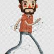 """El Amigo original.. Un progetto di Animazione , e Character Design di Carlos """"Zenzuke"""" Albarrán - 07.04.2014"""