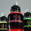 Powebull - energy drink. A Design, 3D, and Packaging project by Francisco Cabezas - 05.21.2014