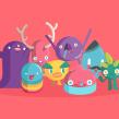 """Fandanz App Promo Video. Un progetto di Motion Graphics, Animazione, Character Design , e Architettura d'interni di Carlos """"Zenzuke"""" Albarrán - 23.06.2014"""