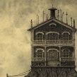 """""""Guía de Hoteles Inventados"""" Álbum ilustrado. A Illustration project by Óscar Sanmartín Vargas - 17.07.2014"""