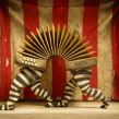 """Palíndromos"" Diorama. A Illustration project by Óscar Sanmartín Vargas - 20.07.2014"