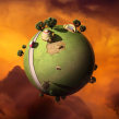 Kaito's Planet. A Illustration, Fotografie und 3-D project by Carles Marsal - 25.07.2014