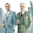 Fashion men III. Um projeto de Ilustração e Moda de Fernando Vicente - 25.09.2014