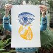 Lejos de los ojos.... Un proyecto de Ilustración y Serigrafía de Barba - 31.10.2012