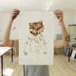 A tiger in Hamburg. Un proyecto de Ilustración y Serigrafía de Barba - 31.03.2011