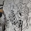 Mural en las oficinas de Fugu. Un projet de Design , Illustration, Beaux Arts , et Peinture de Óscar Lloréns - 11.11.2014