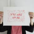 You are here. Um projeto de Serigrafia de Barba - 30.04.2014