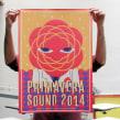 Primavera Sound 2014. Un projet de Illustration , et Sérigraphie de Barba - 21.05.2014