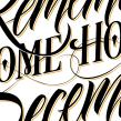 Calendario Ajúa 2015. A Graphic Design, and Calligraph project by Victor Kams - 12.02.2014