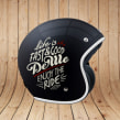 DEWE HELMETS. A Design, Accessor, Design, Art Direction, Br, ing, Identit, and Calligraph project by Conspiracystudio - 01.06.2015