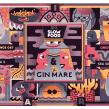 Gin Mare Torino. Um projeto de Ilustração e Publicidade de Juan Díaz-Faes - 18.01.2015