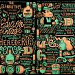 II VINTAGE EDITION GLENROTHES. Un proyecto de Ilustración, Publicidad, Br, ing e Identidad y Caligrafía de Juan Díaz-Faes - 26.01.2015