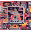 GIN MARE SLOW FOOD. Un proyecto de Ilustración y Publicidad de Juan Díaz-Faes - 17.02.2015