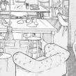 Boceto Set Rodaje Allianz. A Illustration, Werbung, Kino, Video und TV und Innendesign project by Luaiso Lopez - 05.06.2014