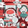 El placer de trabajar. Un projet de Conception éditoriale et Illustration de Juan Díaz-Faes - 22.02.2015