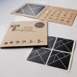 Sticky Tangram. Un progetto di Product Design di Fábrica de Texturas - 18.10.2013