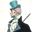 Mansfield Park. Jane Austen - Principales personajes masculinos. Um projeto de Ilustração de Fernando Vicente - 04.04.2015