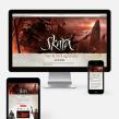 SKARA The Blade Remains. Web responsive. Um projeto de Design de jogos e Web design de Jordi Ubanell - 31.05.2015