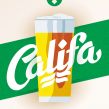 Cervezas Califa. Lettering y Rótulos. A Br, ing, Identit, Graphic Design, T, and pograph project by Juanjo López - 07.02.2015