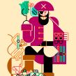 Datum magazine. Un proyecto de Diseño, Ilustración, Bellas Artes y Diseño gráfico de Carlos Arrojo - 30.09.2014