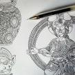 CUADERNOS DE VIAJE VUELING. Um projeto de Ilustração, Design editorial e Paisagismo de Juan Díaz-Faes - 11.08.2015
