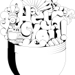 Vicelona. Un proyecto de Ilustración de Marta Cerdà Alimbau - 07.09.2009