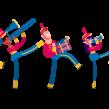 'La banda' (Parapachín). Un proyecto de Motion Graphics, Animación y Educación de Moncho Massé - 12.10.2015