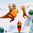 Shaolin animated shortfilm. A 3D, Animation, and Character Design project by Luis Arizaga - 10.18.2015