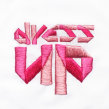 Dress Up embroidery logo. Um projeto de Design, Br, ing e Identidade, Artesanato, Artes plásticas e Bordado de Señorita Lylo - 02.11.2015