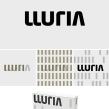 Imagen corporativa de la empresa de ingeniería de iluminación Lluria. Un projet de Design , T , et pographie de Enric Jardí - 08.12.2015