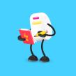 Panic - Character design, gizmos and backgrounds. Un progetto di Illustrazione, Br, ing e identità di marca , e Character Design di Juan José Ros - 09.12.2015