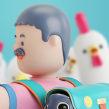 USBEK & RICA. A Design, Illustration, 3D, and Art Direction project by Aarón Martínez - 11.11.2015