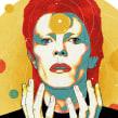 Yorokobu // Rock´n´Draw / David Bowie y las estrellas. A Illustration und Musik und Audio project by Oscar Giménez - 11.01.2016