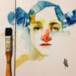 """Acuarelas que mancho en Bares - Sketch Café. A Fine Art project by Daniel """"Pito"""" Campos - 04.21.2016"""