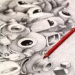 Dibujos. Un proyecto de Ilustración y Bellas Artes de Óscar Lloréns - 03.05.2016