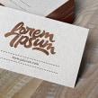 Lorem Ipsum logotipo . Un proyecto de Br, ing e Identidad, Diseño de títulos de crédito, Tipografía y Caligrafía de Joluvian - 27.06.2016