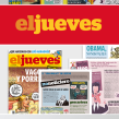 Rediseño El Jueves. Um projeto de Design editorial e Tipografia de Enric Jardí - 28.08.2016