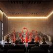 Centro Cultural en Beijing. A Design, Photograph, 3D, Architecture, Interior Architecture, Post-production & Infographics project by Phrame - 08.31.2015