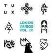 LOGOS. A Graphic Design project by Quique Ollervides - 10.17.2016