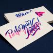 Yani & Guille – Letterpress Postcards. A Design, T, pografie und Design von Kraftfahrzeugen project by Yani&Guille - 10.01.2017