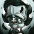 Edgar Allan Poe . Um projeto de Ilustração de Guacala Studio - 12.01.2017