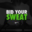 Nike: Bid Your Sweat. Um projeto de Marketing e Publicidade de Daniel Granatta - 13.04.2012