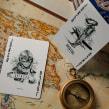 Aviator Playing cards. Un projet de Illustration, Conception de produits, T , et pographie de Abraham García - 09.09.2015